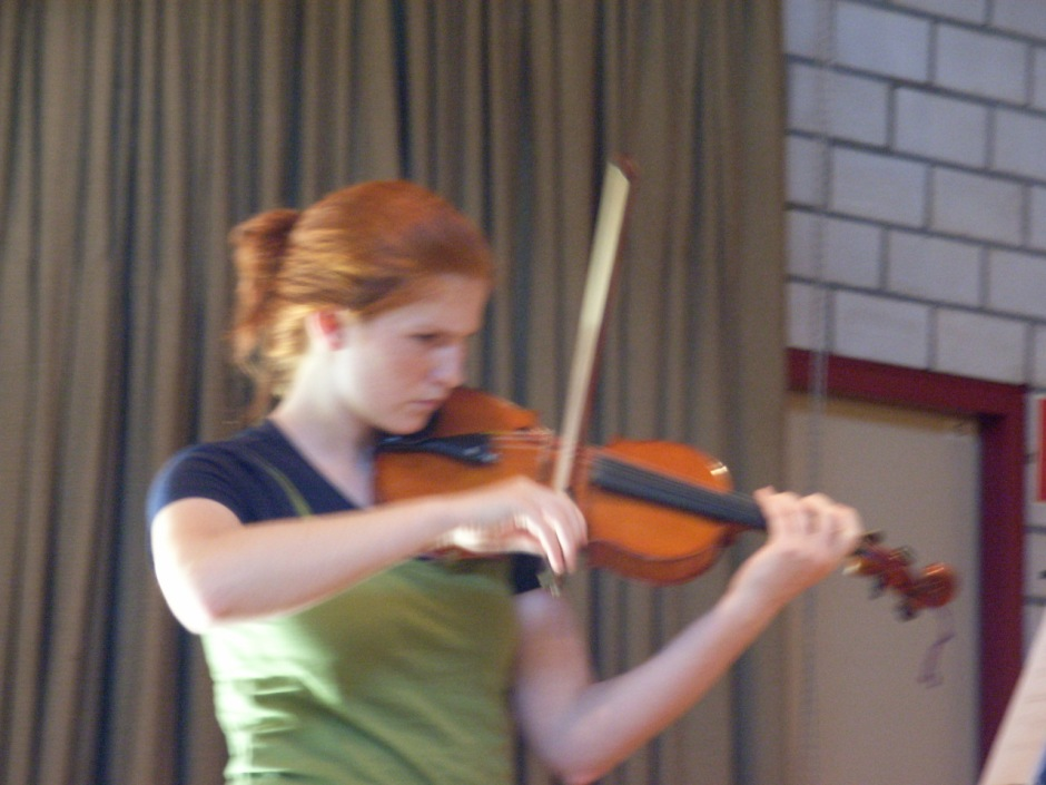 Helen Meyer im Konzert 2006