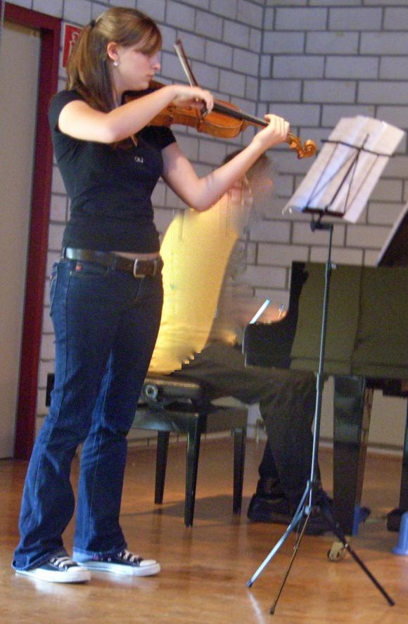 Sofie Franke im Konzert 2006
